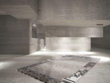 14582 Teppich Taupe 80x150 cm – Bild 4