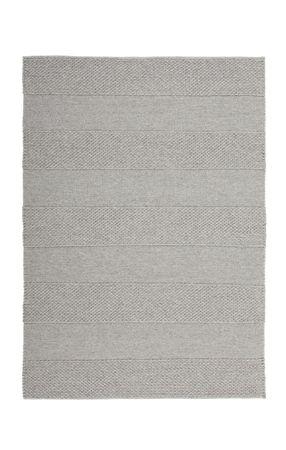 14669 Teppich Handgewebt Gainsboro Grau 120x170 cm – Bild 1