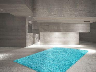 14710 Teppich Aqua Aquamarin 60x110 cm – Bild 4