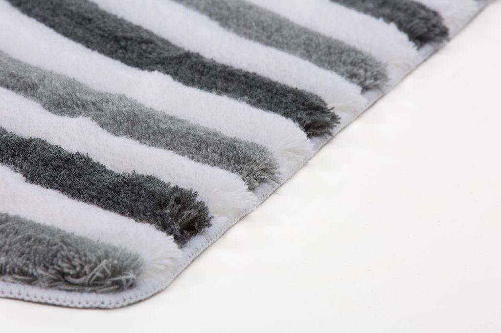 14816 teppich 3d badezimmerteppich 2erset badvorleger grau. Black Bedroom Furniture Sets. Home Design Ideas