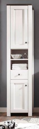 ANTWERPEN Badezimmer Set 5 tlg  Komplettset Badmöbel Badezimmermöbel Weiß – Bild 3