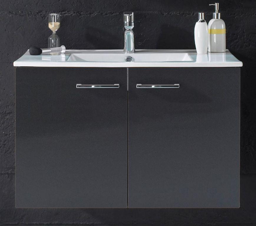 splash 8 badezimmer set 2 tlg grau bad badezimmer komplettsets. Black Bedroom Furniture Sets. Home Design Ideas