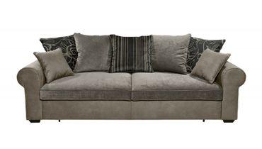 *AUSSTELLUNGSSTÜCK* CANYON 3er Sofa Couch 3-Sitzer Schlafsofa Braun/Grau – Bild 2