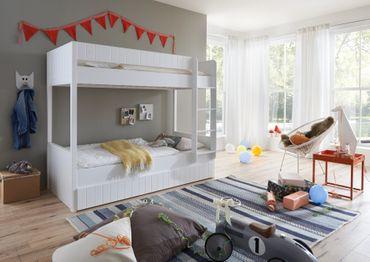 Bettschublade LUKA Bettkasten 90x190cm Weiß – Bild 2