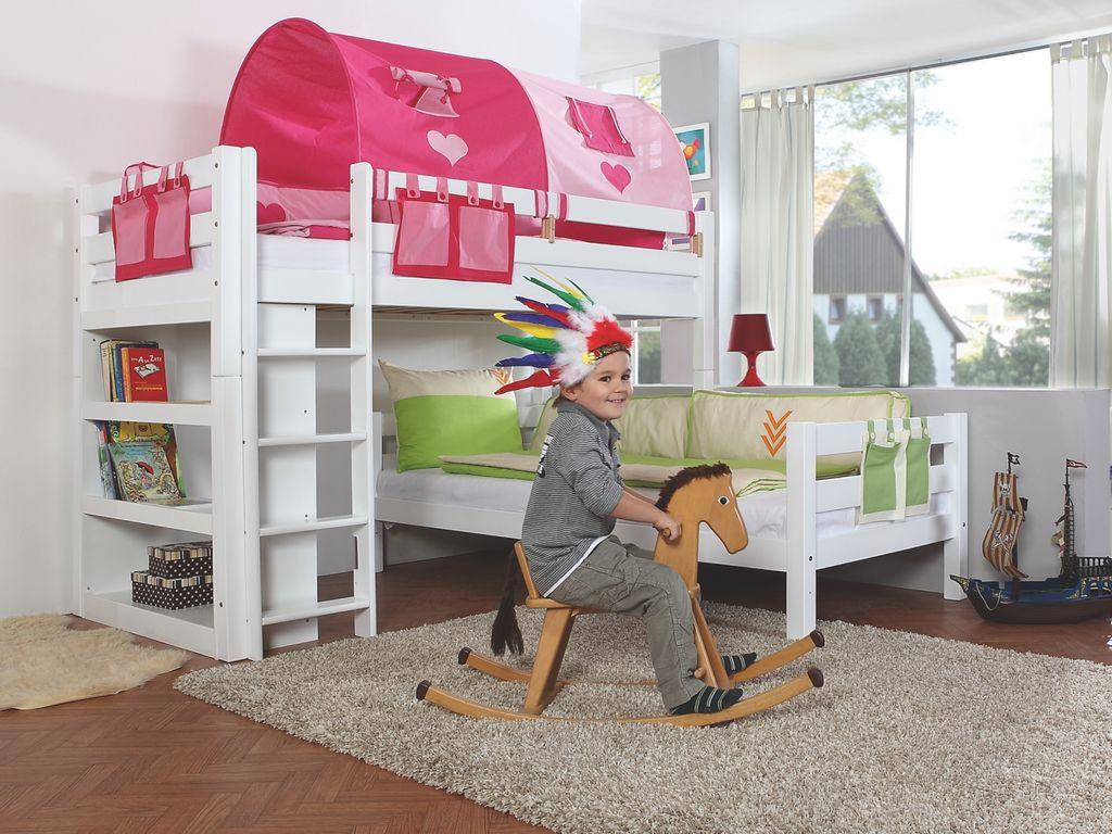 Etagenbett Pink : Stofftasche seitentasche betttasche für hochbett etagenbett