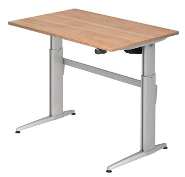 XE-Serie Elektrisch Höhenverstellbarer Schreibtisch 120 x 80 cm, verschiedene Farben – Bild 8