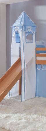 Turm für Etagenbett und Hochbett Blau/Boy