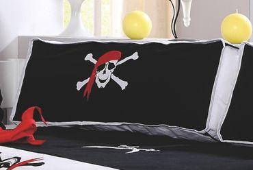 Seitenkissen Kissen Kinderkissen für Spielbett Hochbett Etagenbett Pirat