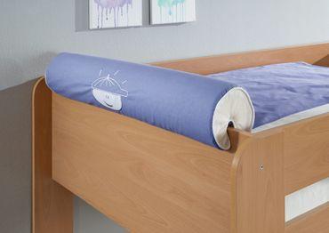 Nackenkissen Nackenrolle für Spielbett Hochbett Etagenbett Blau/Boy