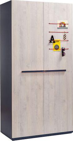 Cilek TRIO 2 Kinderzimmer Set Komplettset Jugendzimmer Blau / White-Wash – Bild 3