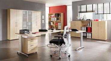 B-Serie Schreibtisch 120 x 80 cm, verschiedene Farben – Bild 8