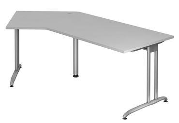 B-Serie 135° Kompakt-Schreibtisch 210 x 113 cm, verschiedene Farben – Bild 4