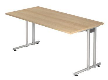 N-Serie Schreibtisch 160 x 80 cm, verschiedene Farben – Bild 5