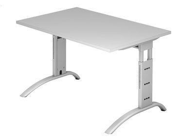 F-Serie Höhenverstellbarer Schreibtisch 120 x 80 cm, verschiedene Farben – Bild 2