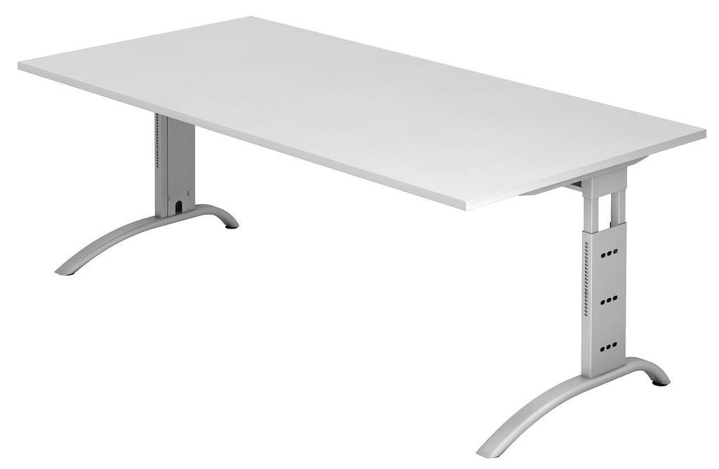schreibtisch 16630 h henverstellbarer arbeitstisch tisch b rotisch 200x100cm ebay. Black Bedroom Furniture Sets. Home Design Ideas