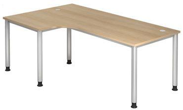 H-Serie 90° Höhenverstellbarer Kompakt-Schreibtisch 200 x 120 cm , verschiedene Farben – Bild 5