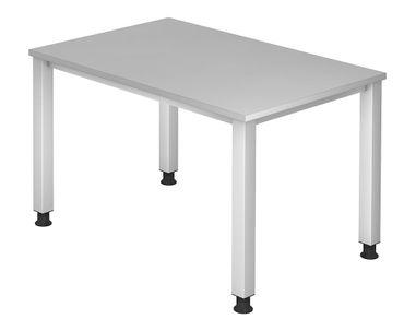 Q-Serie Höhenverstellbarer Schreibtisch 120 x 80 cm, verschiedene Farben – Bild 4