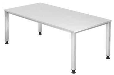 Q-Serie Höhenverstellbarer Schreibtisch 200 x 100 cm, verschiedene Farben – Bild 7