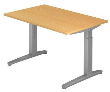 XB-Serie Höhenverstellbarer Schreibtisch 120 x 80 cm, verschiedene Farben – Bild 5
