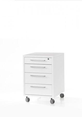 Prima Rollcontainer Weiß – Bild 4