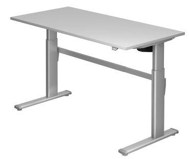 XM-Serie Elektrisch Höhenverstellbarer Schreibtisch 160 x 80 cm, verschiedene Farben – Bild 5