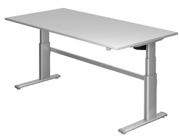 XD-Serie Elektrisch Höhenverstellbarer Schreibtisch 200 x 100 cm, verschiedene Farben – Bild 4