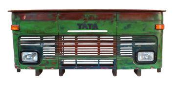 LKW-Theke THIS & THAT 16923 grün, Deckplatte natur – Bild 3