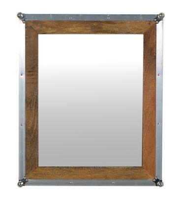 Spiegel ROADIES 17240 natur mit silbernen Beschlägen – Bild 2