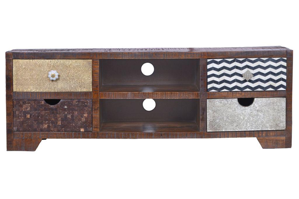 lowboard ebony 17415 braun sch ner wohnen tv m bel. Black Bedroom Furniture Sets. Home Design Ideas