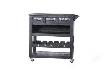 Küchenwagen BRONX 17455 antikschwarz – Bild 3
