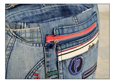 Sitzhocker DENIM 17497 jeansblau – Bild 2