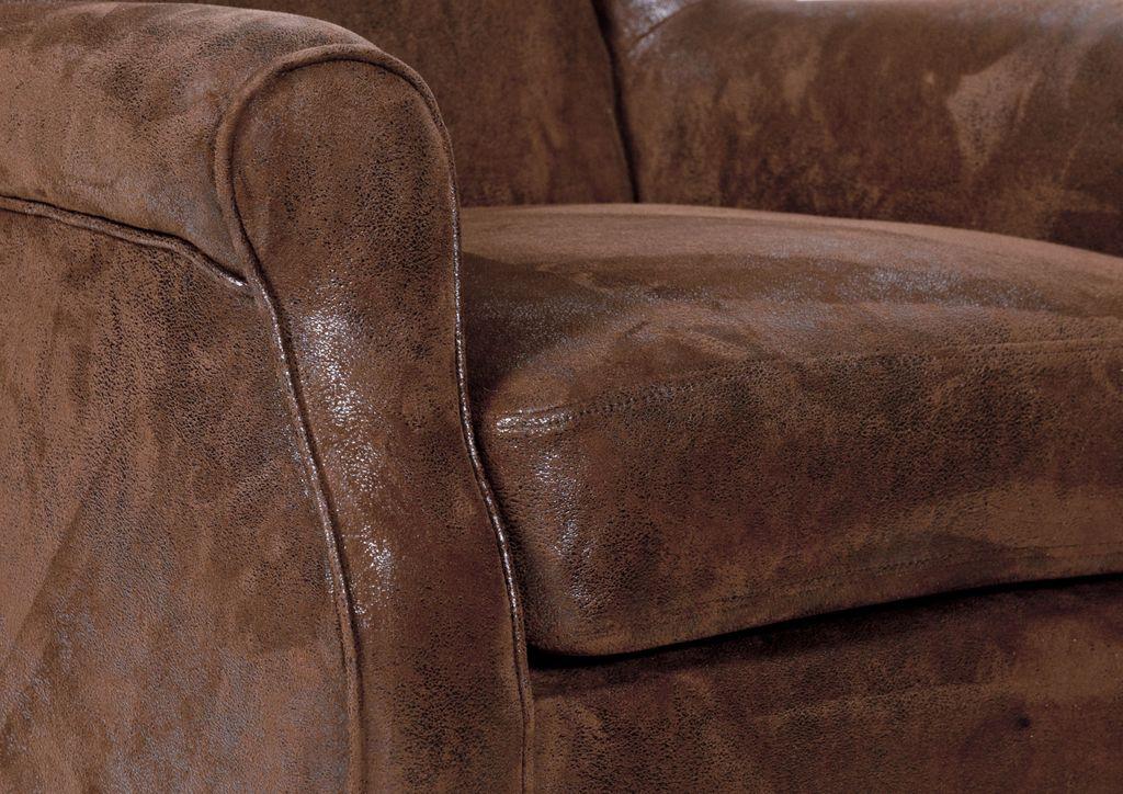 Ohrensessel sit chairs 17520 f e natur bezug braun for Ohrensessel natur
