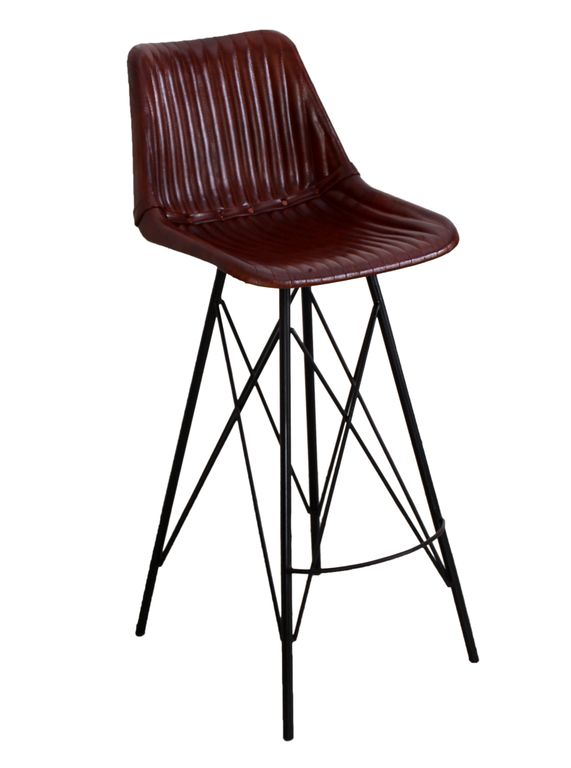 Barhocker sit chairs 17561 gestell schwarz bezug for Barhocker dunkelbraun