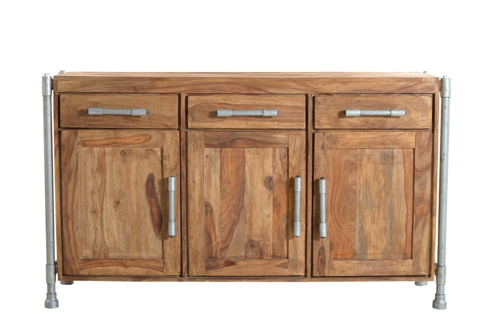 Sideboard anrichte kommode tube 17586 natur ebay for Sideboard natur
