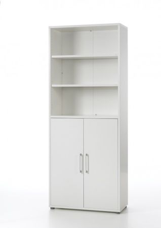 Prima Kombischrank 6 OH Weiß – Bild 1