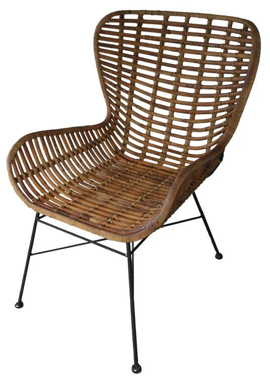 stuhl rattan 17668 natur sch ner wohnen st hle. Black Bedroom Furniture Sets. Home Design Ideas