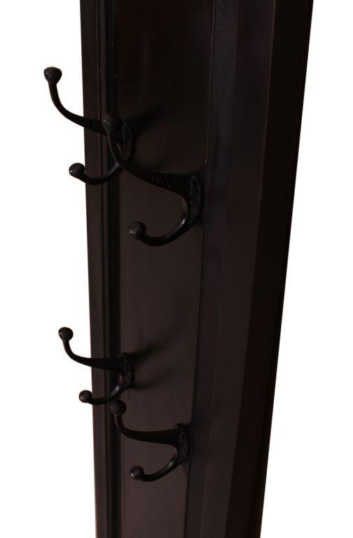 wandgarderobe corsica 17739 schwarz honigfarbig abgesetzt. Black Bedroom Furniture Sets. Home Design Ideas