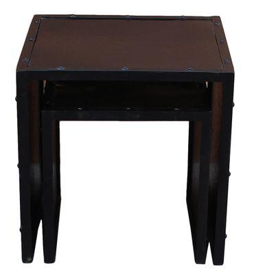 2-Satz-Tisch STEEL 17810 Korpus schwarz, Front bunt – Bild 5