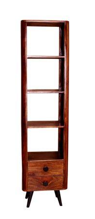 Bücherregal KNOB 18014 natur, Beine antikschwarz – Bild 5