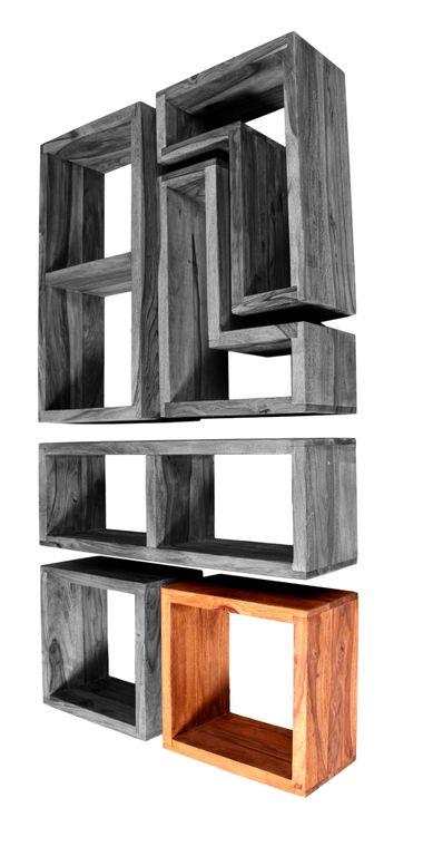 wandregal panama 18101 natur sch ner wohnen regale h ngeregale. Black Bedroom Furniture Sets. Home Design Ideas