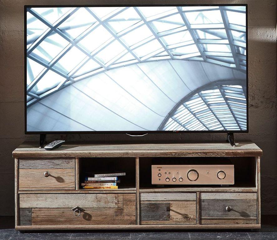 tv unterteil rockwall driftwood nachbildung sch ner wohnen. Black Bedroom Furniture Sets. Home Design Ideas