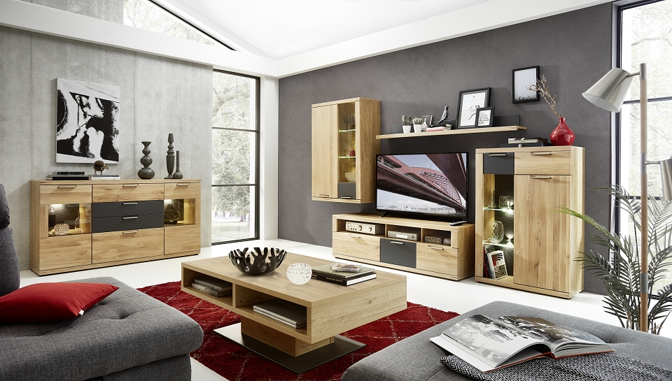 couchtisch bozen eiche hell sch ner wohnen tische b nke couchtische. Black Bedroom Furniture Sets. Home Design Ideas