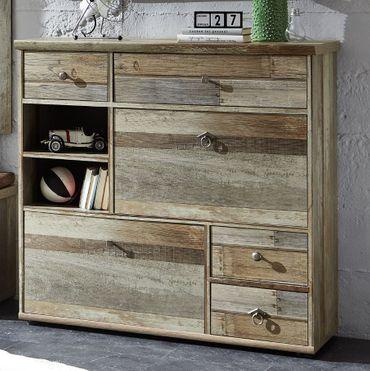 Schuhschrank ROCKWALL Driftwood Nachbildung – Bild 1