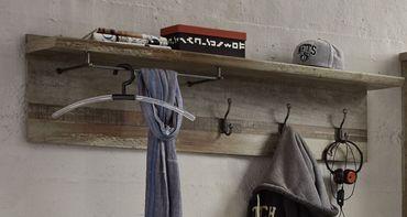 Garderobenpaneel ROCKWALL Driftwood Nachbildung – Bild 2