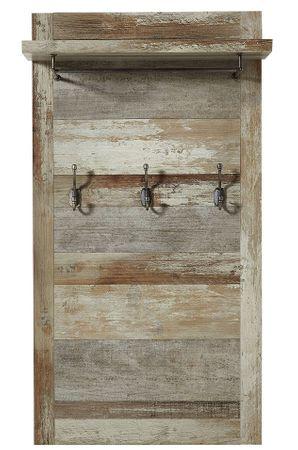 Garderobenpaneel ROCKWALL Driftwood Nachbildung – Bild 1