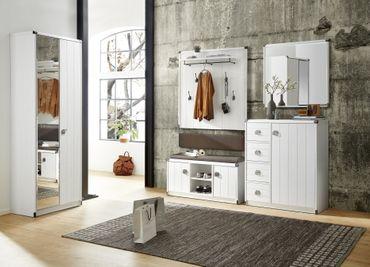 Garderobenschrank VARBERG Pinie hell – Bild 4
