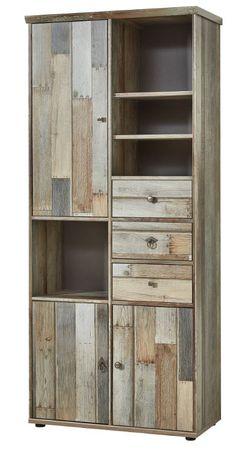 Wohnzimmer Komplettset ROCKWALL 1 Driftwood Nachbildung – Bild 5