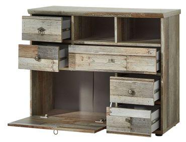 Wohnzimmer Komplettset ROCKWALL 1 Driftwood Nachbildung – Bild 8