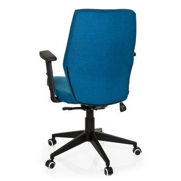 Bürostuhl 19389 Stoff Blau – Bild 5