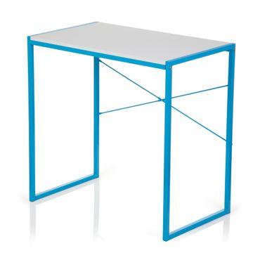 Computertisch / Schreibtisch 19572 Hellblau / Weiß – Bild 8